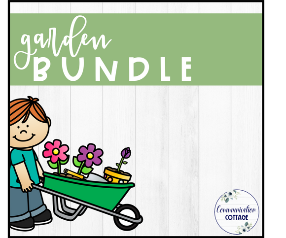 Garden Theme Digital Bundle