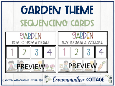 Garden Sequencing Activity (PDF)