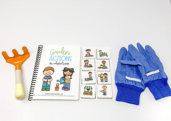 Garden Actions: Adapted Book