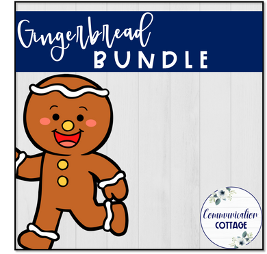 Gingerbread Digital Theme Bundle