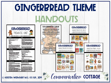 Gingerbread Theme Guide