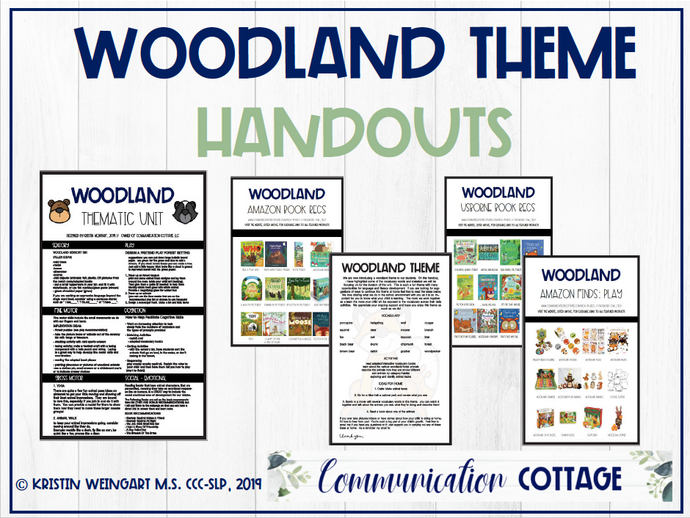 Woodland Theme Guide