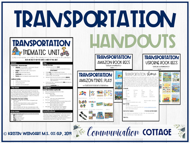 Transportation Theme Guide
