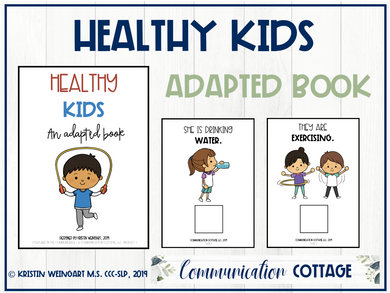 Healthy Kids Adapted Book