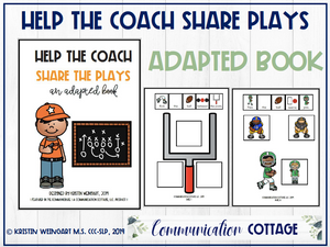 Help the Coach: Adapted Book