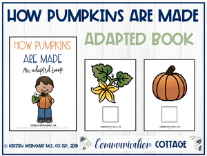 How Pumpkins are Made: Adapted Book