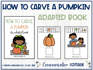 How to Carve a Pumpkin: Adapted Book