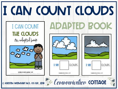 I can count the clouds: Adapted Book