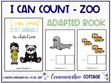 I Can Count My Zoo Animals (PDF)