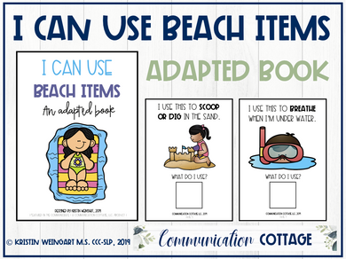 I Can Use Beach Items