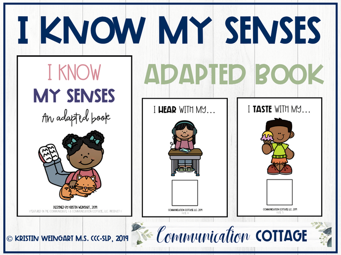 I Know My Senses: Adapted Book