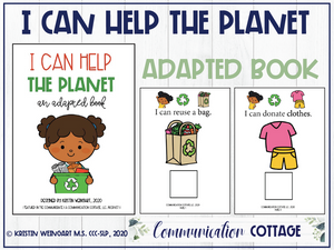 I Can Help The Planet: Adapted Book