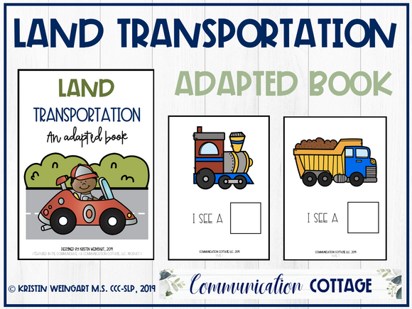 Land Transportation: Adapted Book