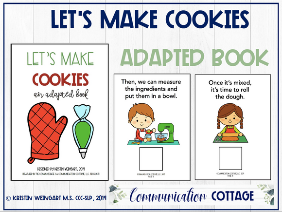 Let's Make Cookies: Adapted Book