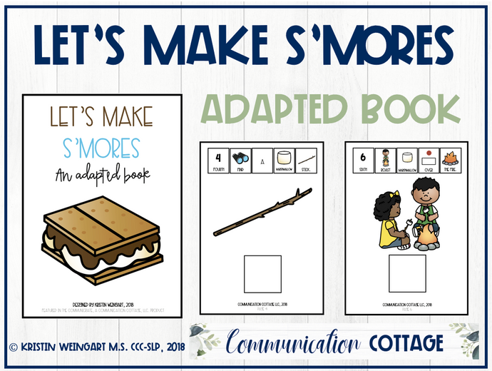 Let's Make S'mores: Adapted Book