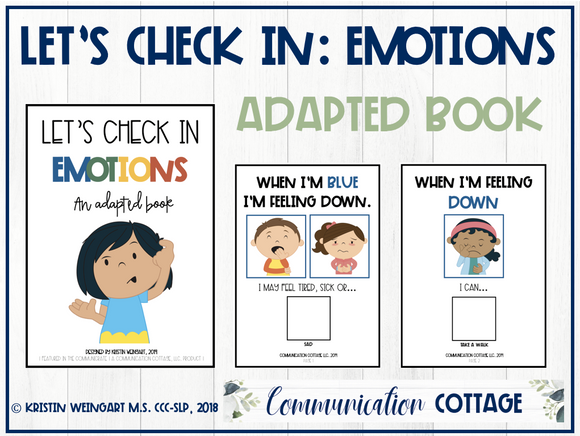 Let's Check In-Emotions: Adapted Book