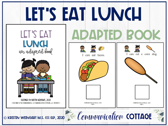 Let's Eat Lunch: Adapted Book