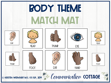 Body Theme Match Mat