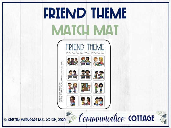 Friend Match Mat