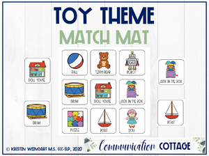 Toy Match Mat