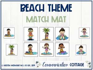 Beach Match Mat