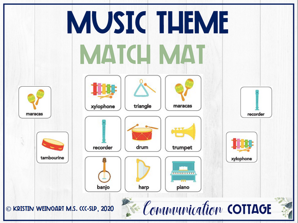 Music Match Mat