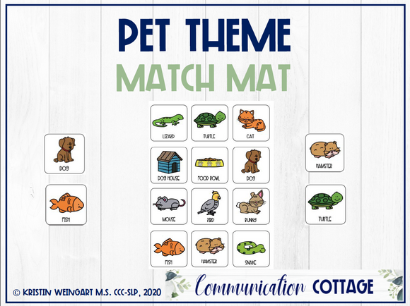Pet Match Mat