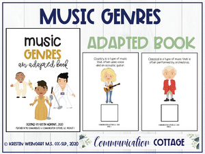 Music Genres: Adapted Book