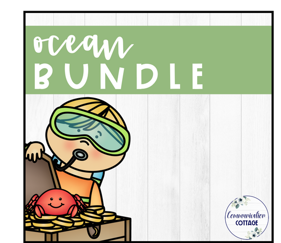 Ocean Theme Digital Bundle