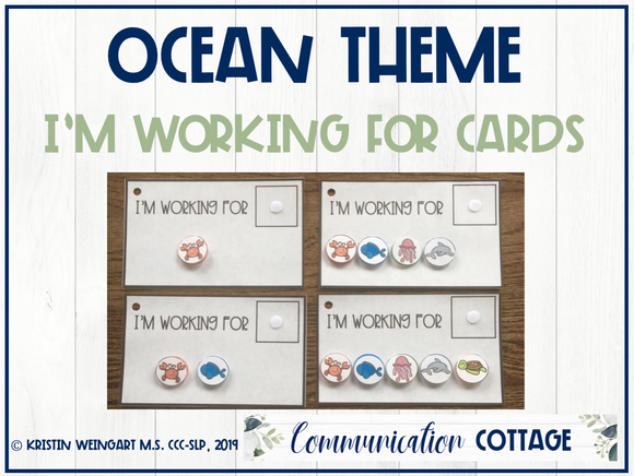 Ocean: I'm Working For Cards
