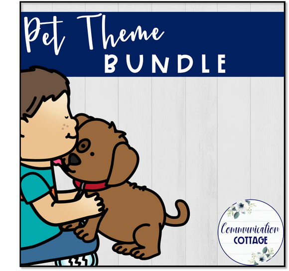 Pet Theme Digital Bundle
