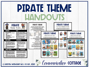 Pirate Theme Guide + Handouts