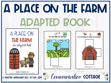 A Place on The Farm: Adapted Book