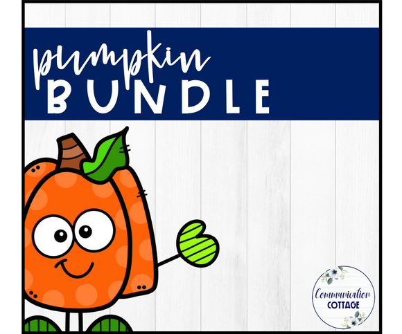 Pumpkin Theme Digital Bundle