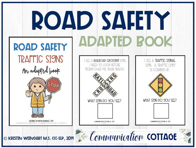 Road Safety: Adapted Book
