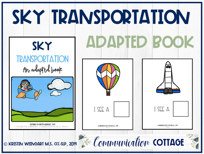 Sky Transportation: Adapted Book