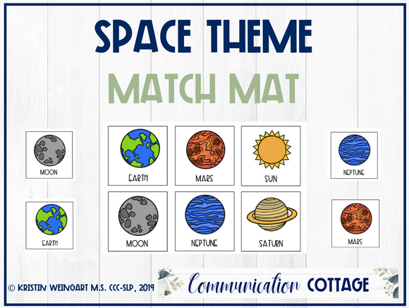Space Match Mat