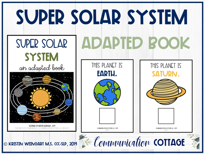 Super Solar System: Adapted Book