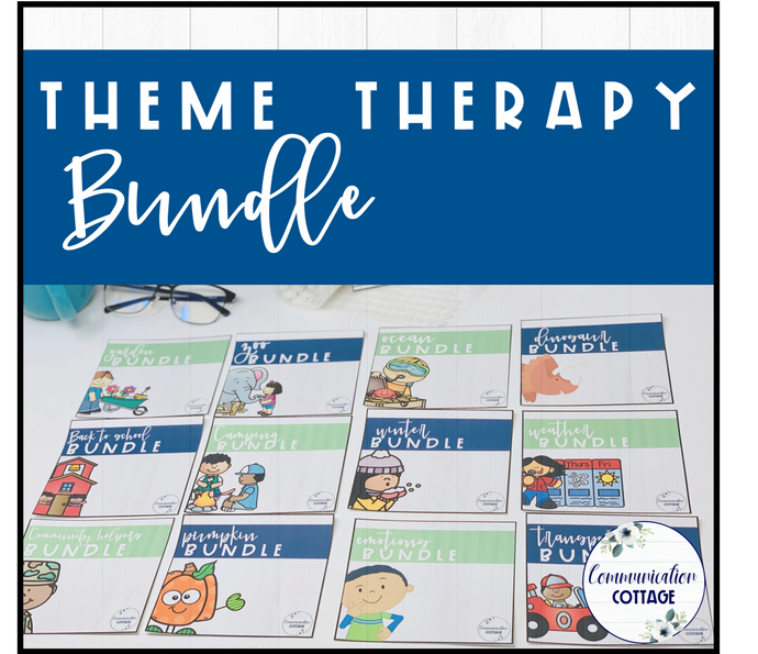 Theme Therapy Digital Bundle