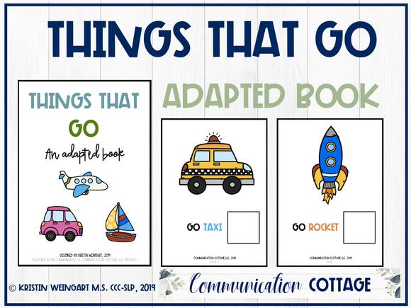 Things that Go: Adapted Book