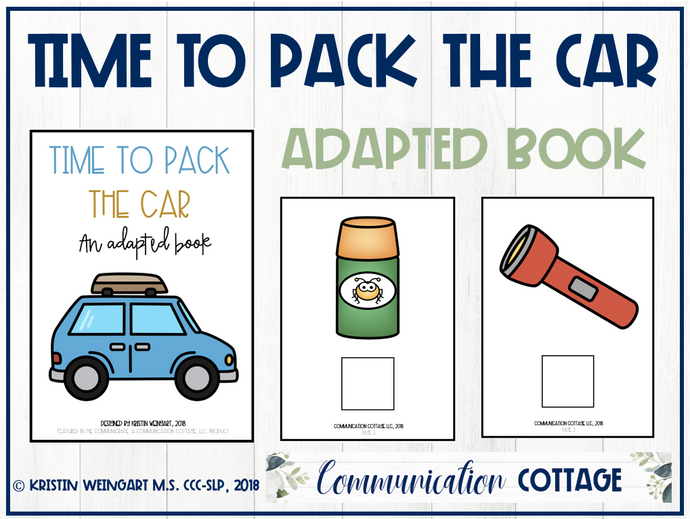 Time to Pack the Car: Adapted Book