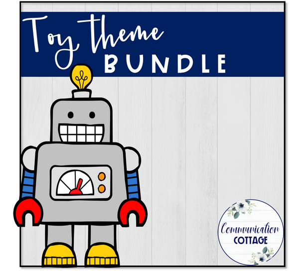 Toy Theme Digital Bundle
