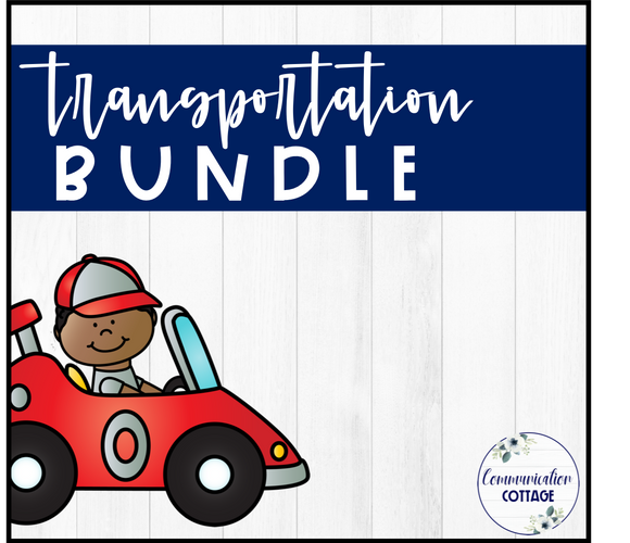 Transportation Theme Digital Bundle