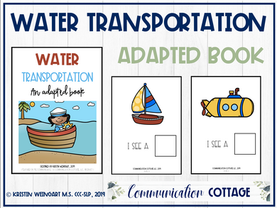 Water Transportation: Adapted Book