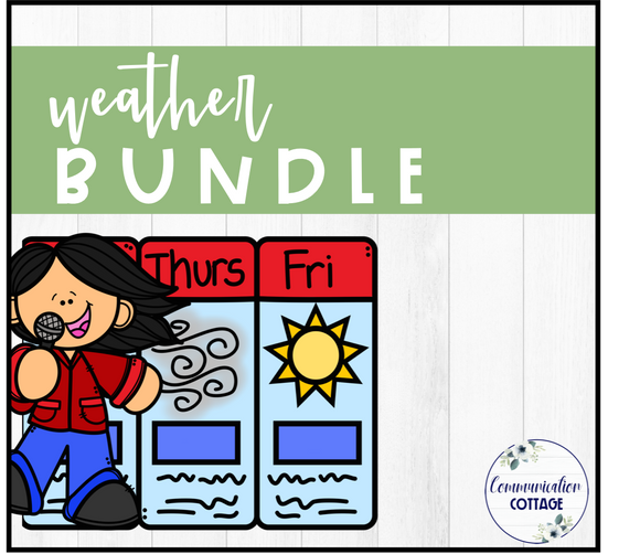 Weather Theme Digital Bundle