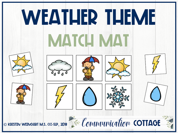 Weather Match Mat