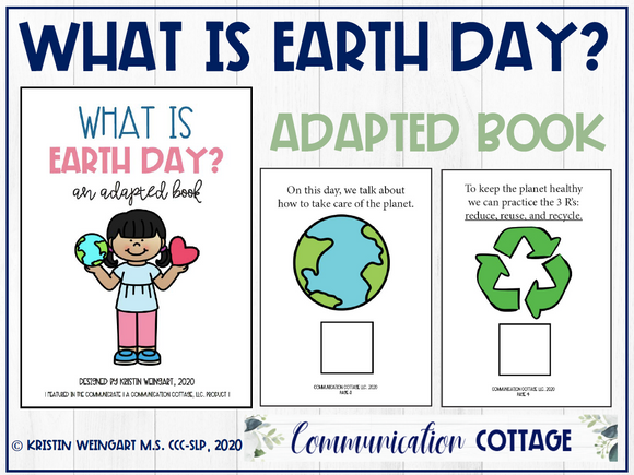 What Is Earth Day? Adapted Book