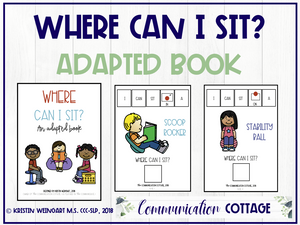 Where Can I Sit? Adapted Book