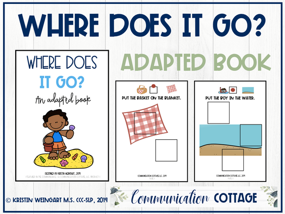 Where Does It Go? Adapted Book