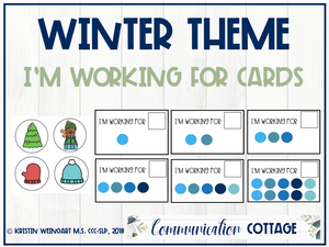 Winter: I'm Working For Cards